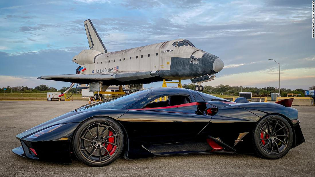 Maker of this street-legal car says it topped 300 mph once. But it's not so easy to do it again