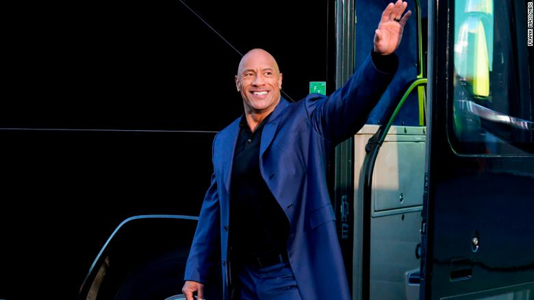 Dwayne Johnson says late dad 'would have loved' new TV series 'Young Rock'
