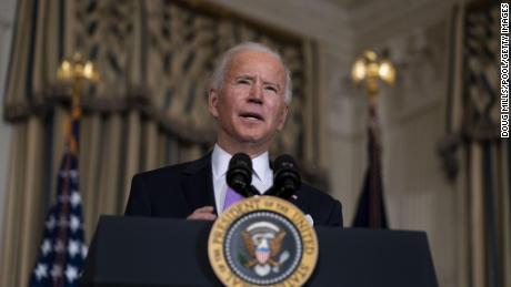 Biden indicates a bold timeline for returning to normal life