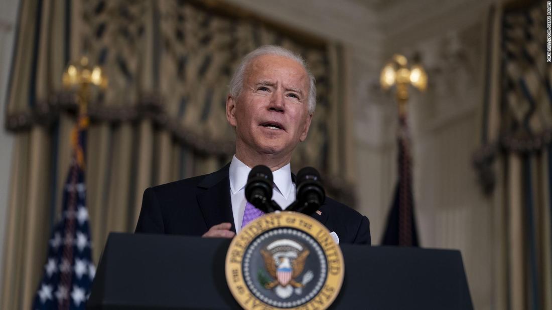 Biden sets bold timeline for a return to normal life