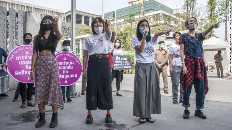 Thailand backs amendment allowing early-stage abortions