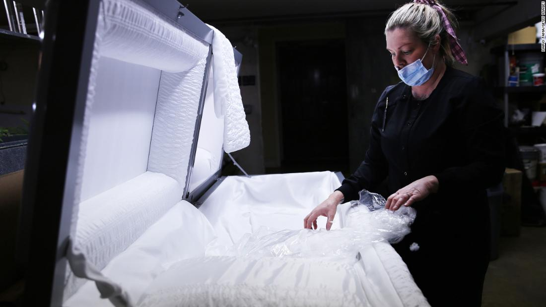 January has been deadliest month for Covid deaths in US