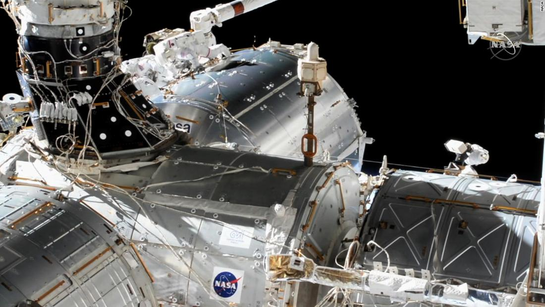 NASA astronauts Victor Glover, Mike Hopkins conduct spacewalk Wednesday