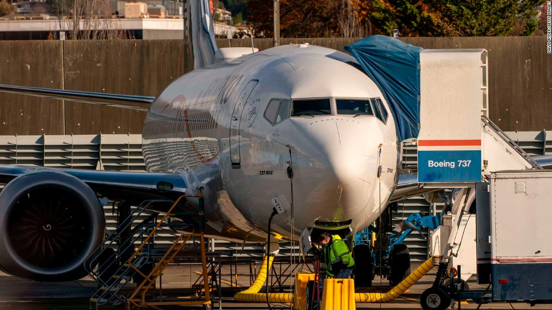 Facing back-to-back crises, Boeing posts a record loss