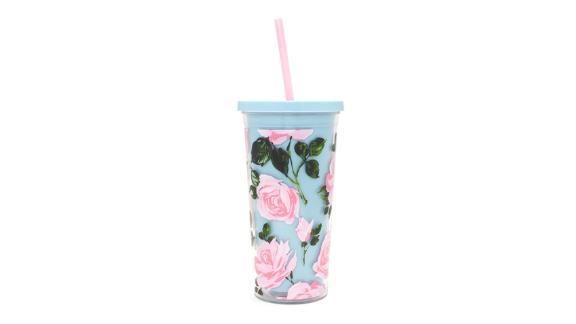 Rose Parade Sip Sip Mug with Straw
