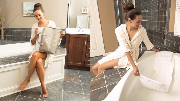 QuiltedAir BathBed Luxury Bath Pillow and Spa Cushion