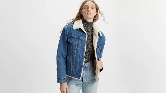 Ex-Boyfriend Wool-Lined Trucker Jacket