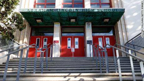 Abraham Lincoln High School is one of dozens of school that San Francisco Unified School District officials voted to rename in January.