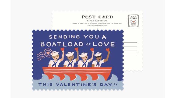 Rifle Paper Co. Boatload of Love Postcard Set