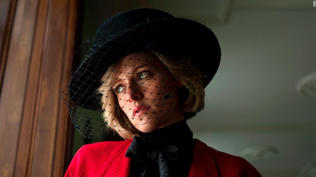 First look at Kristen Stewart as Princess Diana in 'Spencer'