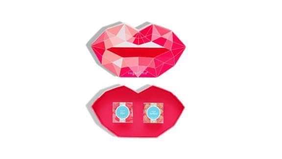 Pucker Up Set of 2 Candy Cubes