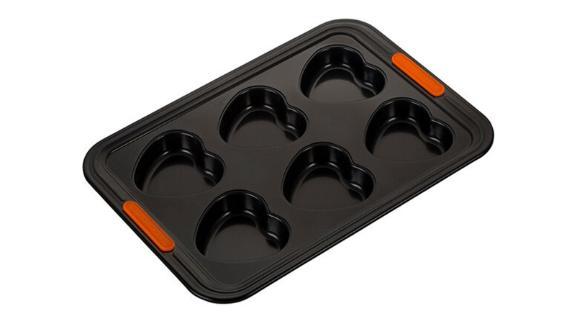 6-Cup Heart Cakelet Pan