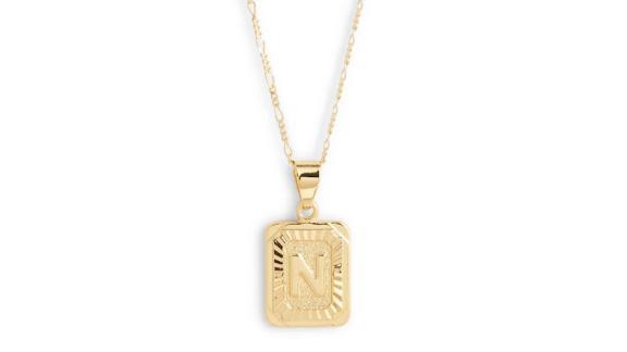 Bracha Initial Pendant Necklace