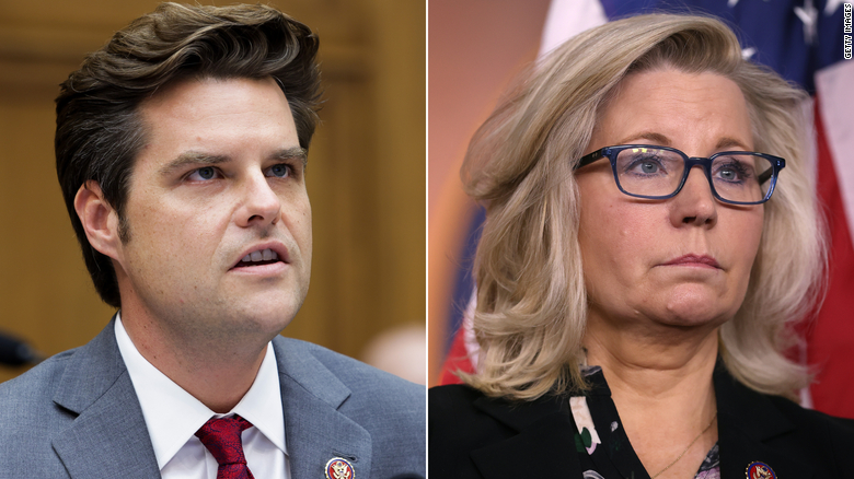 Liz Cheney calls Matt Gaetz allegations 'sickening' but stops short of calling for his resignation