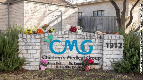 Flowers will be left at the Children's Medical Group on West 35th Street on January 27, 2021.