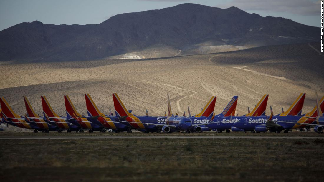 Southwest Airlines reports first loss in 48 years