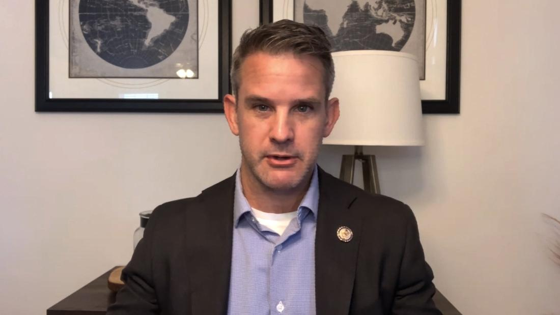 Republican representative Kinzinger: This is not the party I joined