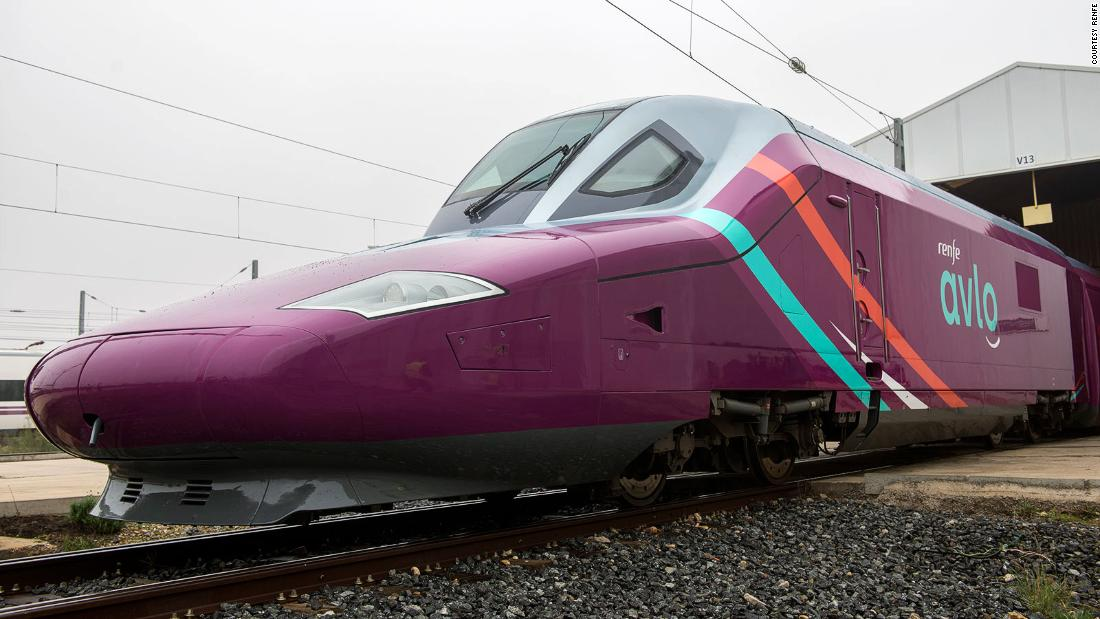 Spain launches low-cost bullet train