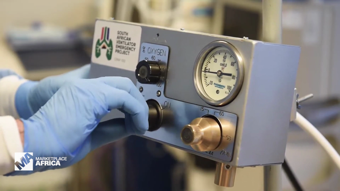 How South African ingenuity helped propel ventilator manufacturing - CNN Video