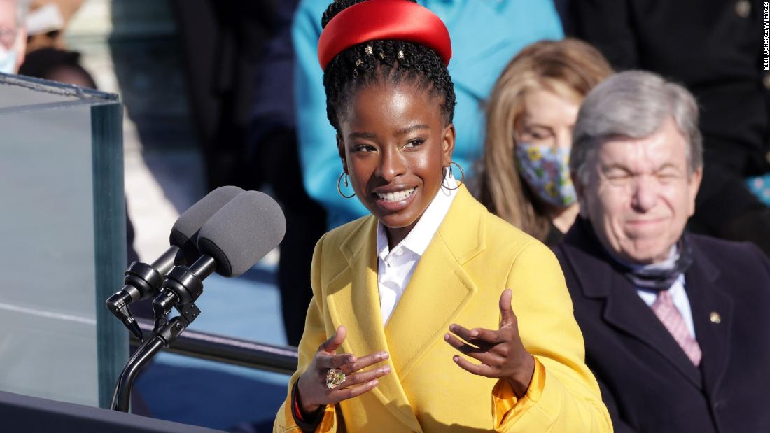 Amanda Gorman, Biden's inauguration poet, says she was 'tailed' by security guard on her walk home