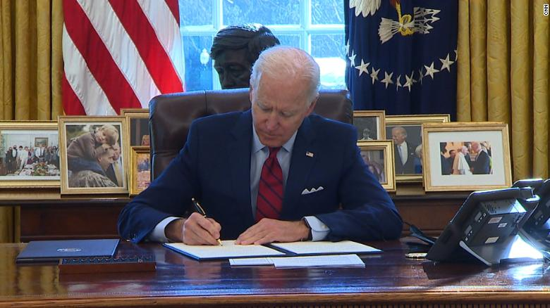 Biden has signed 42 executive actions since taking office. Here's what each  does - CNNPolitics