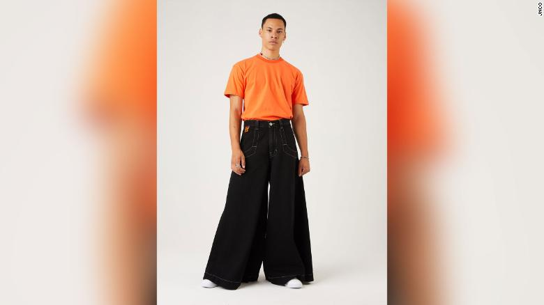 The iconic JNCO wide-leg jeans made a comeback in 2019 and saw demand surge through the pandemic.