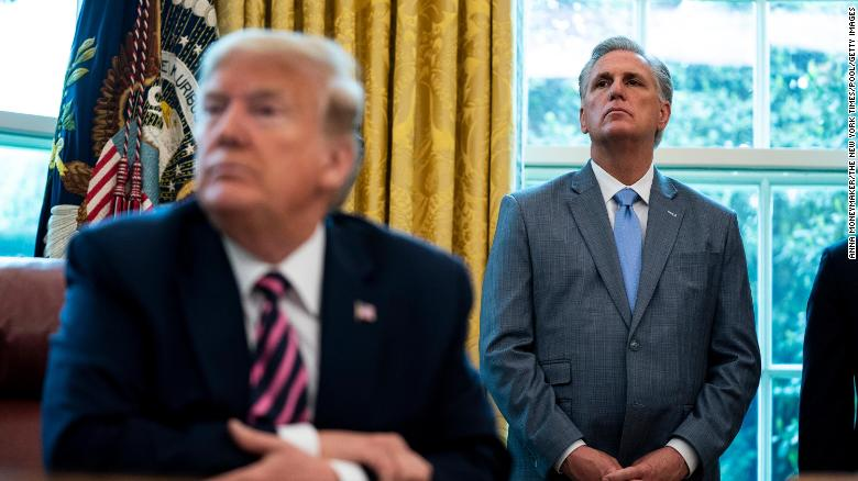 Why Kevin McCarthy has already failed his first big leadership test