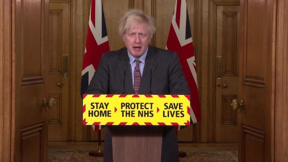 screengrab boris johnson covid-19 presser