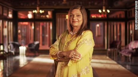 "Sima Taparia, the star of ""Indian Matchmaking."" The reality show, which followed the love lives of people in India and the United States, became an international sensation."