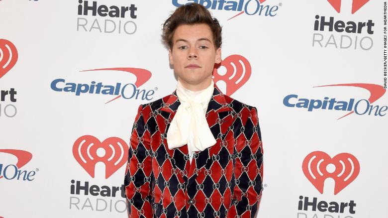 Harry Styles appears post-credits in 'Eternals'
