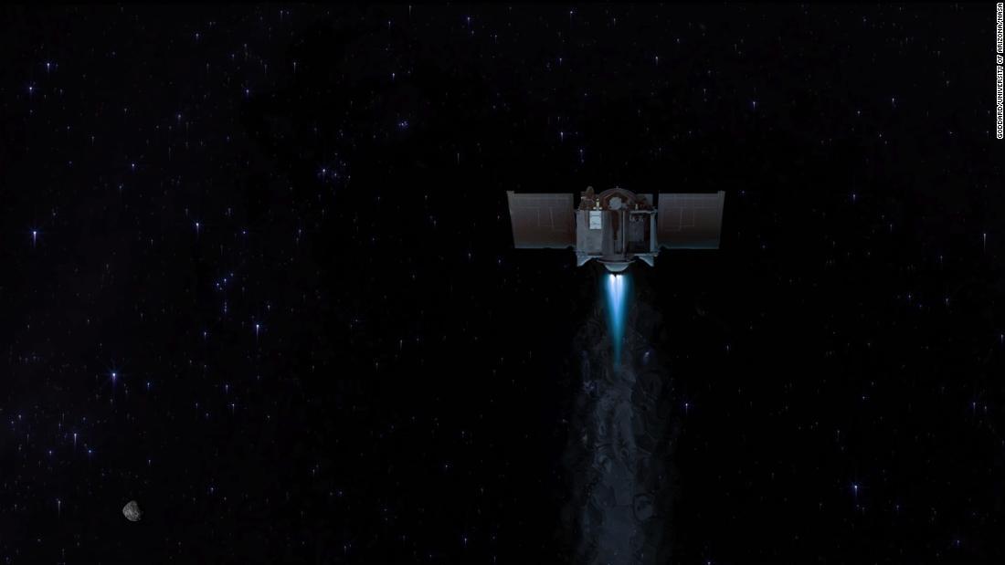 NASA spacecraft carrying history-making asteroid sample will head toward Earth – CNN