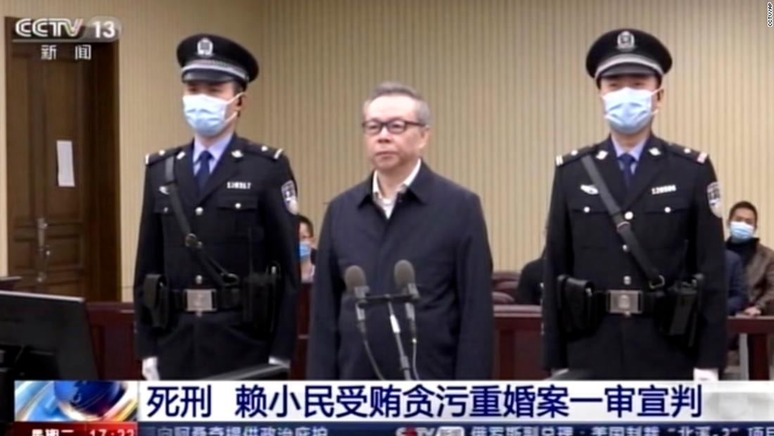 Former China Huarong chairman executed after bribery conviction