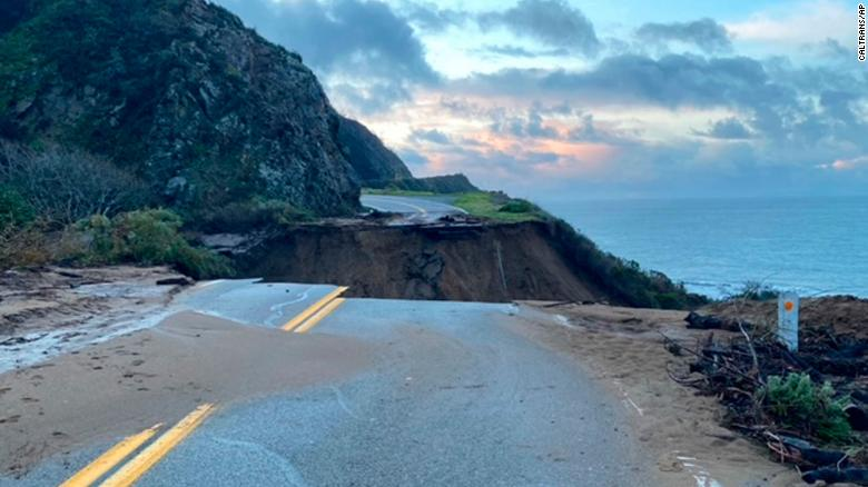 A huge piece of California's Highway 1 collapsed into the ocean 210130114511-01-california-highway-1-big-sur-0129-exlarge-169