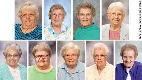 Dorothea Gramlich, 81; Helen Laier, 88; Jeannine Therese McGorray, 86; Charlotte Moser, 86; Esther Ortega, 86; Mary Lisa Rieman, 79; Ann Rena Shinkey, 87; Margaret Ann Swallow, 97; and Mary Irene Wischmeyer, 94, all died from Covid-19.