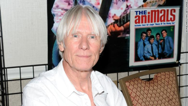 Hilton Valentine, guitarist of The Animals, has died at 77