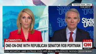 Sen. Portman lays out GOP counterproposal to Biden's covid plan