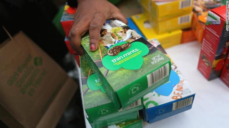 Grubhub has partnered with the Girl Scouts to help safely sell cookies and teach entrepreneurship