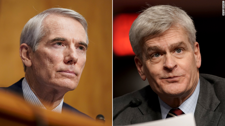 Two Republican senators vow to keep open mind in Trump's second impeachment trial