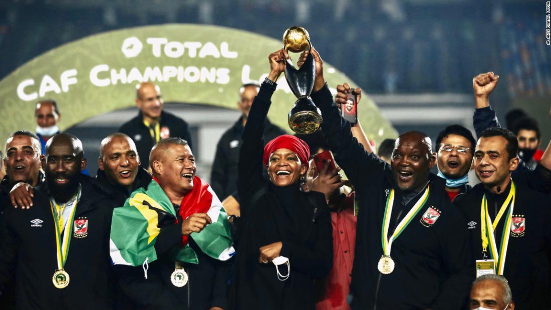Pitso Mosimane: Africa's Pep Guardiola looks to the future – CNN Video