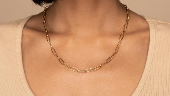 Mejuri Bold Link Chain Necklace