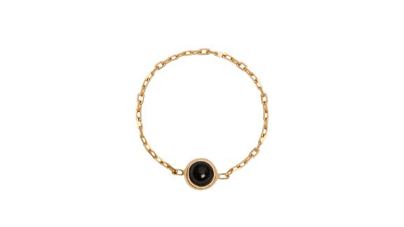 Aurate Mini Charm Circle Ring