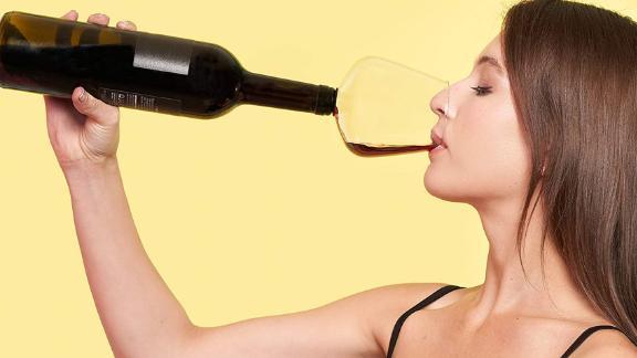 Godinger ChugMate Wine Glass Topper