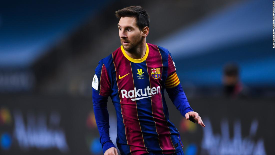 Lionel Messi is leaving FC Barcelona despite agreeing new contract, club says