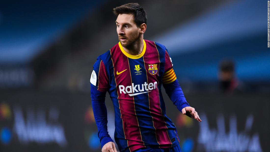 Barcelona denies responsibility for leak after report reveals Lionel Messi's record 2 million contract