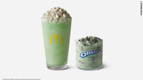 Shamrock Shake and the Oreo Shamrock McFlurry returns on February 15.