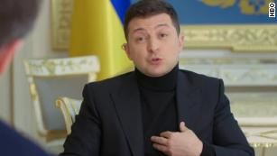 Ukrainian President Zelensky invites Russia's Putin to meet