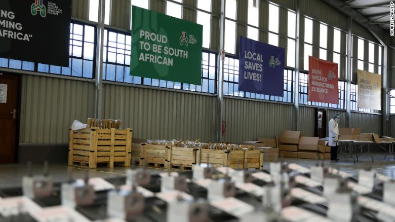 The SAVE-P project produced all 2,000 ventilators locally in South Africa.