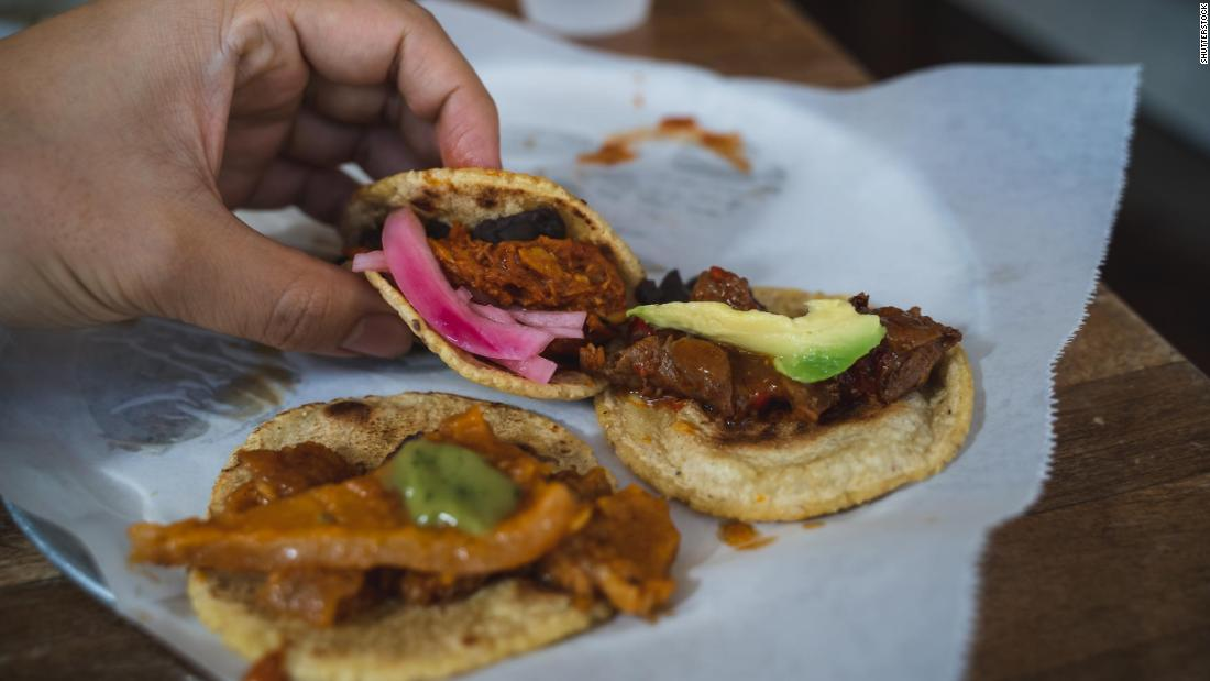 <strong>Los Angeles: </strong>Make street tacos featuring meat or veggies (or both), inspired by the many taco stands, taquerias and trucks throughout the city.
