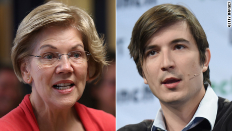 Exclusive: Elizabeth Warren wants answers on Robinhood's ties to large hedge funds
