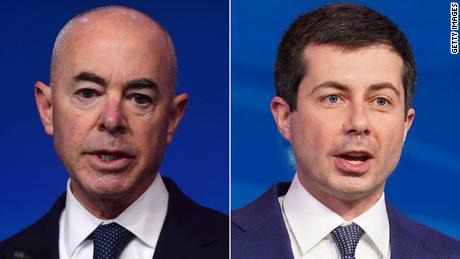 Biden Cabinet nominees Alejandro Mayorkas and Pete Buttigieg